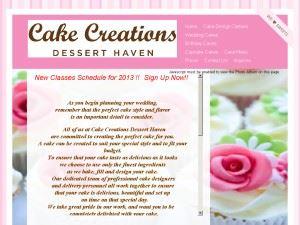 Cake Creations Dessert Haven