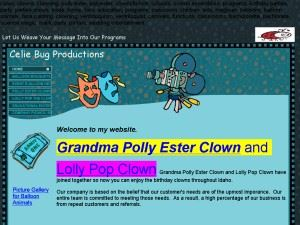 Polly Ester Clown