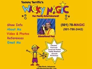 Tommy Terrific's Wacky Magic