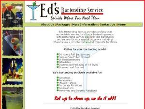 Ed's Bartending Service