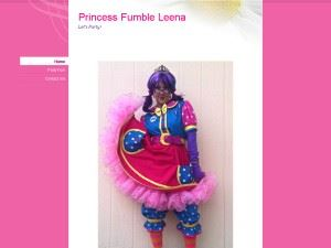 Princess Fumble Leena the Clown