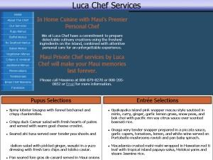 Luca Chef Services
