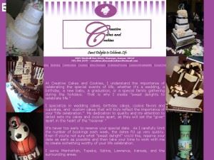 Creative Cakes And Cookies