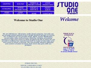 Studio One, Inc
