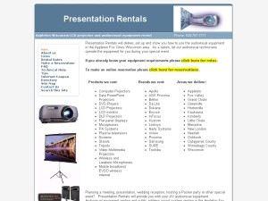 Presentation Rentals