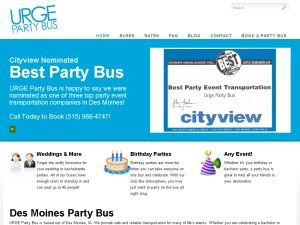 URGE Party Bus