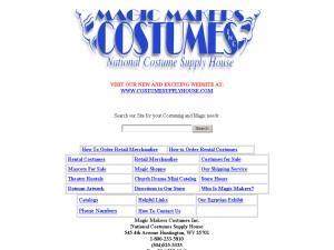 Magic Makers Costumes