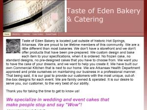 Taste of Eden Bakery & Catering