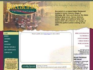 Buccacino's Cucina Italiana Catering