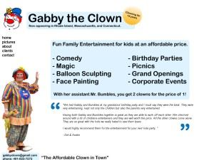 Gabby The Clown