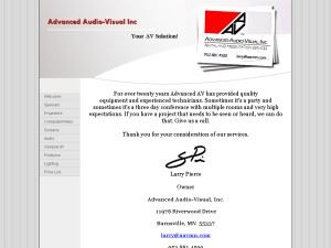 Advanced Audio-Visual, Inc.