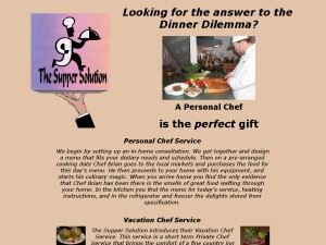 The Supper Solution - A Personal Chef Service