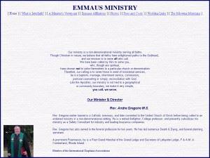 Emmaus Ministry
