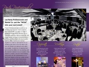 The Party Professionals and Rental Company