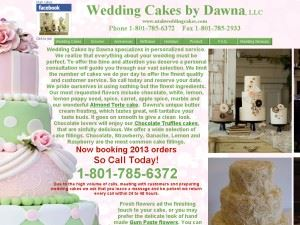 Wedding Cakes By Dawna