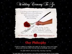 Wedding Ceremony To Go