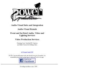 Power Productions Inc.