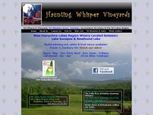 Haunting Whisper Vineyards