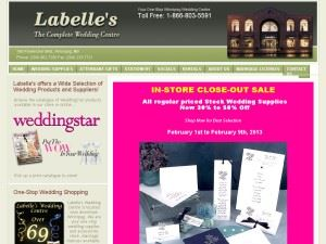 Labelle's Wedding Centre