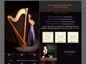 Harpist Dr. Lizary Rodriguez Rios - Providence