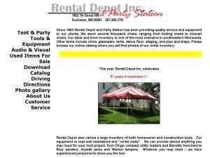 Rental Depot Inc.