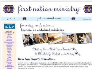 First Nation Church & Ministry