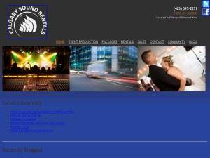 Calgary sound rentals