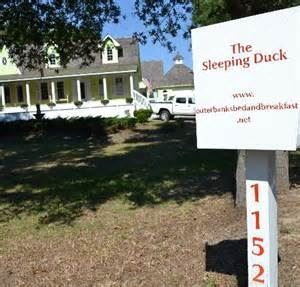 The Sleeping Duck
