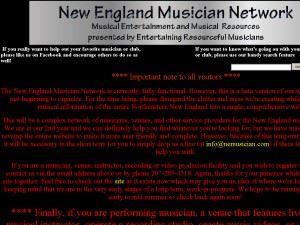 New England Musician Network