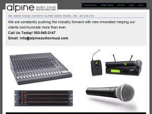 Alpine Audio Visual, Inc.