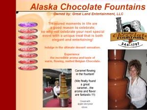 Alaska Chocolate Fountains
