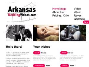 Arkansas Wedding Videos