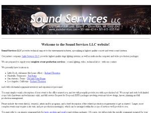 Sound Services LLC