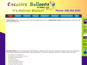 Creative Balloons Of Idaho LLC