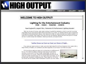 High Output, Inc.