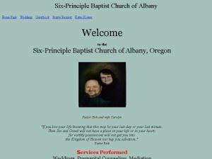 Six-Principle Baptist Church of Rathdrum