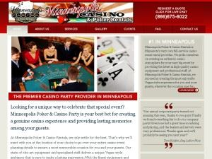 Minneapolis Casino & Poker Rentals