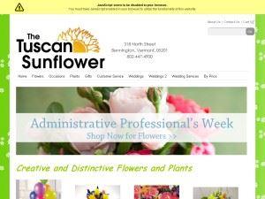 The Tuscan Sunflower
