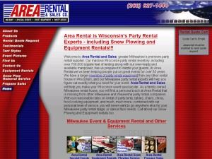 Area Rental & Sales Co