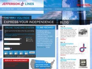 Jefferson Lines Bus Service