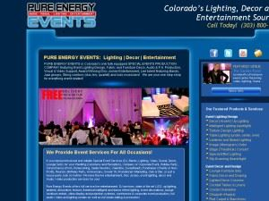 Pure Energy Events