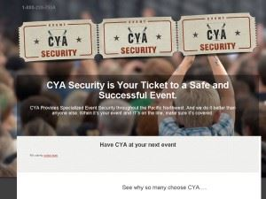 CYA Event Security