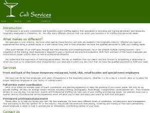 Culi Services Events And Professional Staffing