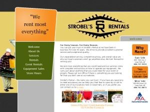 Strobel's Rental