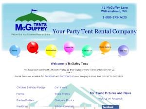 M C Guffey Tents