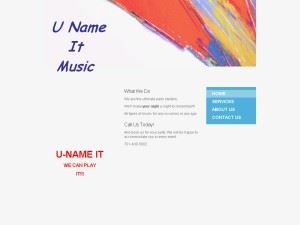 U Name It Music