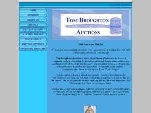 Tom Broughton Tents Rentals