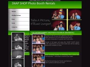 SNAP SHOP photo booth rentals
