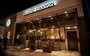 Rustic Canyon Wine Bar