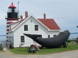 West Quoddy Head Light Station And Visitor Center